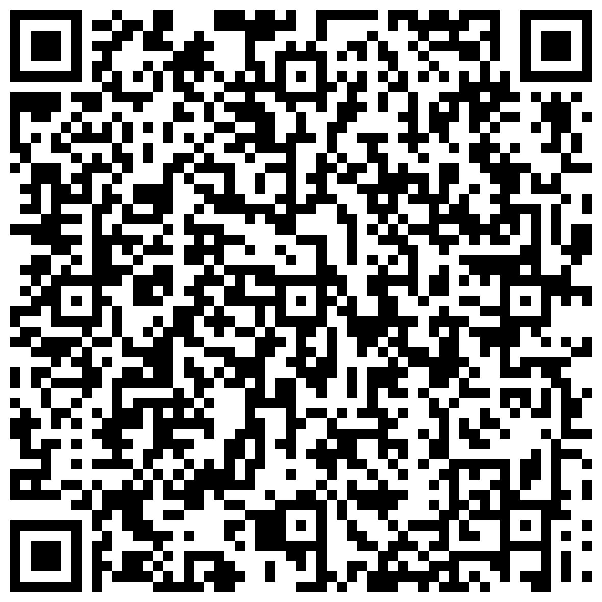 QR code v-card